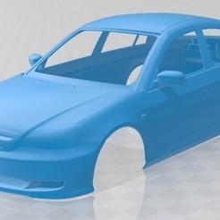 foto 1.jpg Télécharger fichier STL Honda Civic 2001 carrosserie imprimable • Objet à imprimer en 3D, hora80