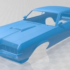 Download STL Cougar Eliminator 1970 Printable Body Car, hora80