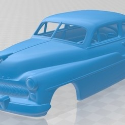 Mercury Eight Coupe 1949 - 1.jpg Download STL file Mercury Eight Coupe 1949 Printable Body Car • 3D print model, hora80