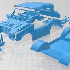 Porsche 597 Jagdwagen 1955-1.jpg Download STL file Porsche 597 Jagdwagen 1955 Printable Car • 3D printing template, hora80