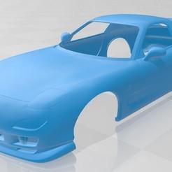 foto 1.jpg Download STL file Mazda RX 7 Printable Body Car • 3D printable model, hora80