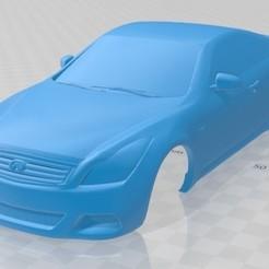 foto 1.jpg Télécharger fichier STL Infiniti G37 Sedan 2011 Carrosserie imprimable • Objet imprimable en 3D, hora80