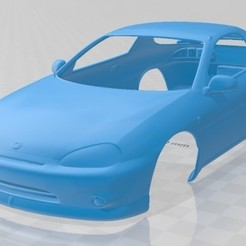 foto 1.jpg Download STL file Mazda MX-3 1992 Printable Body Car • 3D printing template, hora80