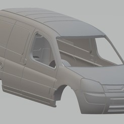 Descargar modelos 3D Citroen Berlingo Printable Body Van, hora80
