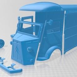 foto 1.jpg Download STL file Citroen H 1980 Printable Van • 3D printer object, hora80