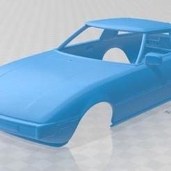 foto 1.jpg Download STL file Mazda RX-7 1978 Printable Body Car • 3D print design, hora80