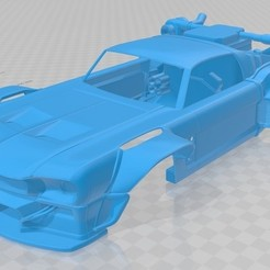 foto 1.jpg Download STL file Mustang Future Printable Body Car • 3D printable model, hora80