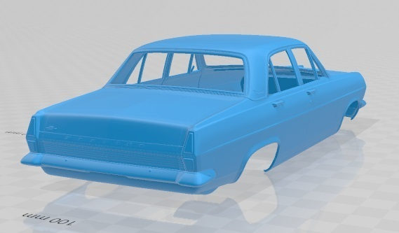 Holden HR Premier 1966-5.jpg Download STL file Holden HR Premier 1966 Printable Body Car • 3D printer template, hora80