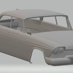 Download 3D printer files Plymouth Belvedere 1958 Printable Body Car, hora80