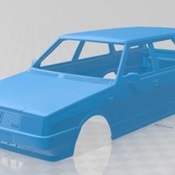 foto 1.jpg Télécharger fichier STL Fiat Regata Weekend 1984 Carrosserie imprimable • Design pour imprimante 3D, hora80