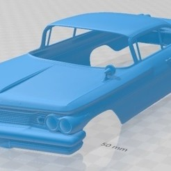 Download 3D printer model Ventura Coupe 1960 Printable Body Car, hora80