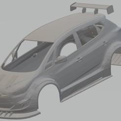 foto 1.jpg Download STL file Hyundai IX 20 Race Printable Body Car • 3D printing object, hora80