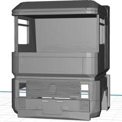 Descargar modelos 3D Renault Magnum 470 1999, body cab printable, hora80