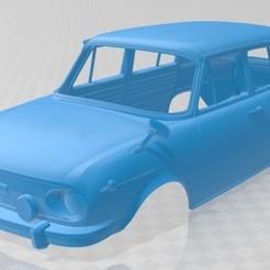 Descargar modelos 3D para imprimir Skoda 100 Printable Body Car, hora80