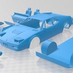 Descargar modelos 3D para imprimir M1 1978 Printable Car, hora80