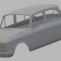 Descargar archivos 3D MOSKVICH 1500 Printable Body Car, hora80
