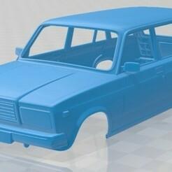 VAZ Lada Zhiguli 21041 - 2006-1.jpg Download STL file VAZ Lada Zhiguli 21041 - 2006 Printable Body Car • 3D printing object, hora80