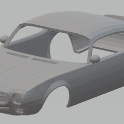 Download STL file Firebird 1970 Printable Body Car, hora80