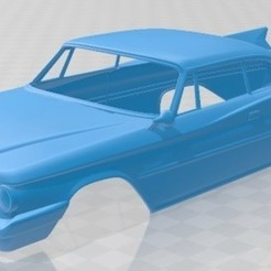 foto 1.jpg Download STL file Saratoga Coupe 1960 Printable Body Car • Object to 3D print, hora80