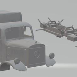 Descargar modelos 3D para imprimir Mercedes Benz L3000 Printable Truck, hora80