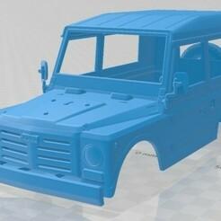 Fiat Campagnola Station Wagon 1987-1.jpg Télécharger fichier STL Fiat Campagnola Station Wagon 1987 Carrosserie imprimable • Modèle imprimable en 3D, hora80