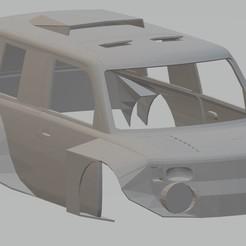 Download 3D printer model Scion xB Dakar Printable Body Car, hora80