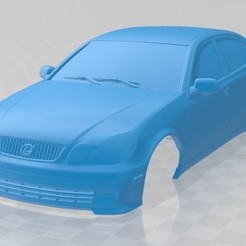 foto 1.jpg Download STL file Lexus GS 2004 Printable Body Car • 3D printer design, hora80
