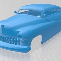 foto 1.jpg Télécharger fichier STL Mercury Coupé 1951 Voiture à carrosserie imprimable • Objet à imprimer en 3D, hora80