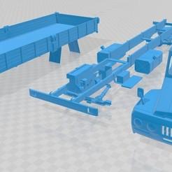 Descargar STL Cargo Old Truck Printable, hora80