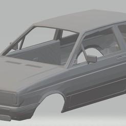 Impresiones 3D Volkswagen Gol G1 GT 1986 Printable Body Car, hora80