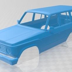 foto 1.jpg Télécharger fichier STL Toyota Land Cruiser J60 -1980 Voiture à carrosserie imprimable • Modèle pour impression 3D, hora80