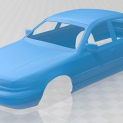 foto 1.jpg Download STL file Crown Victoria 1995 Printable Body Car • 3D print object, hora80
