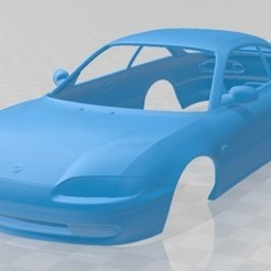 foto 1.jpg Download STL file Mazda MX-6 1992 Printable Body Car • 3D print object, hora80