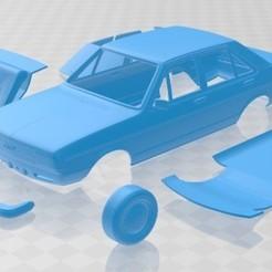 foto 1.jpg Download STL file Audi 80 1976 Printable Car • 3D printer model, hora80