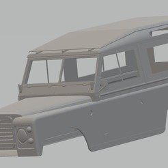 Descargar modelos 3D Land Rover Serie 2 Printable Body Car, hora80