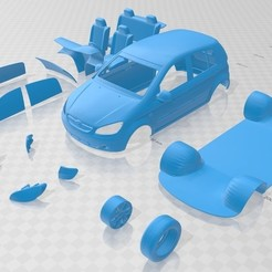 Download 3D printer designs Hyundai Getz 2006 Printable Car, hora80