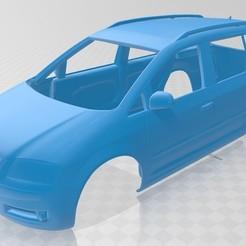 Download 3D printer designs Volkswagen Touran Printable Body Car, hora80