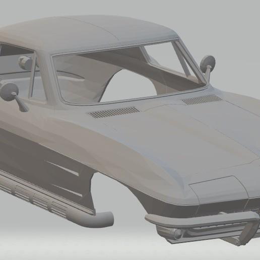 Download 3D printer designs Stingray 1965 Printable Body Car, hora80