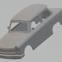 Download 3D printing templates Trabant 601 Printable Body Car, hora80