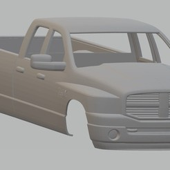 Download 3D print files RAM 3500 Printable Body Truck, hora80
