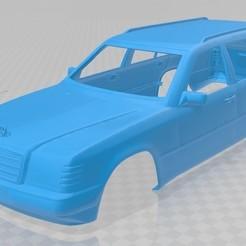 foto 1.jpg Download STL file Mercedes Benz E W124 Touring Printable Body Car • 3D printing design, hora80