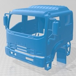 foto 1.jpg Download STL file Isuzu FTS 800 2014 Printable Cabin Truck • 3D printer template, hora80