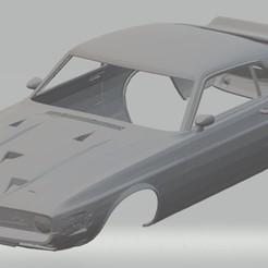 Descargar archivos STL GT500 1969 Printable Body Car, hora80