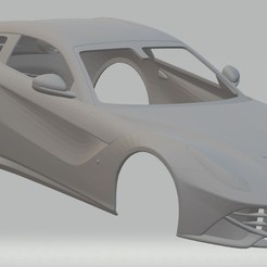 Descargar archivos 3D Ferrari F12 Berlinetta Printable Body Car, hora80