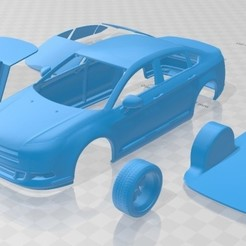 foto 1.jpg Download STL file 2011 Citroen C5 Printable Car • 3D print object, hora80