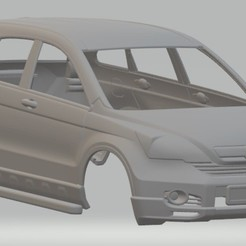 Download free 3D printer templates Honda CR-V Printable Body Car, hora80