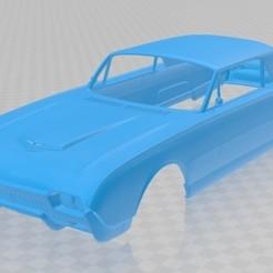 Descargar archivo 3D Thunderbird 1961 Printable Body Car, hora80