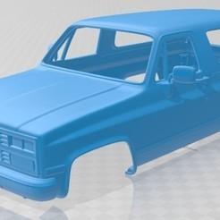 foto 1.jpg Download STL file Blazer Mk2 K5 1989 Printable Body Car • 3D printer design, hora80
