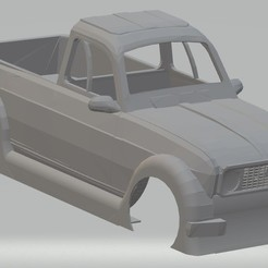 Descargar modelo 3D Renault 4 Pick Up Printable Body Car, hora80