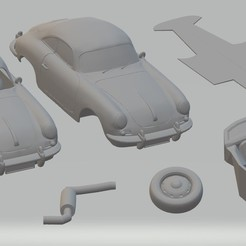 Download 3D printer model Porsche 356 C Printable Car, hora80
